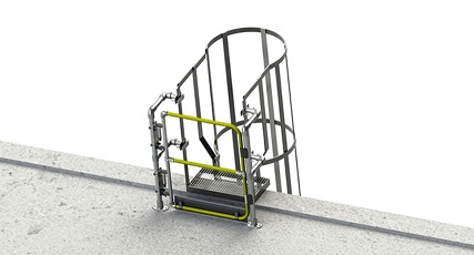 Keegate cancelletto di sicurezza anticaduta scale
