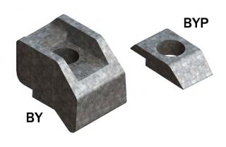 Morsetto tipo BY connessioni strutture metalliche
