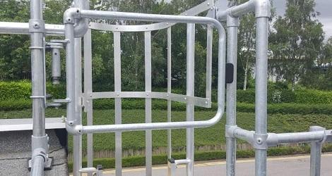 Cancello di sicurezza anticaduta  industriale DPC KeeGate