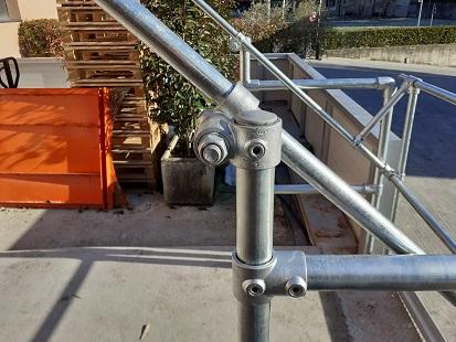Palletgate ribalta bascuate per pallet sicurezza anticaduta dispositivo protezione collettiva