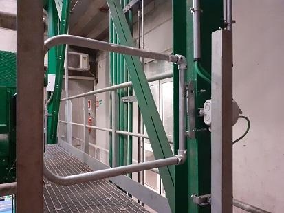 keegate cancello anticaduta per scale dispositivo di protezione