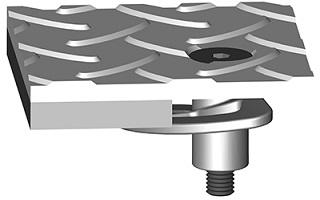 steelfloor morsetti pinze graffe per pavimentazioni metalliche grigliati industriali metallici
