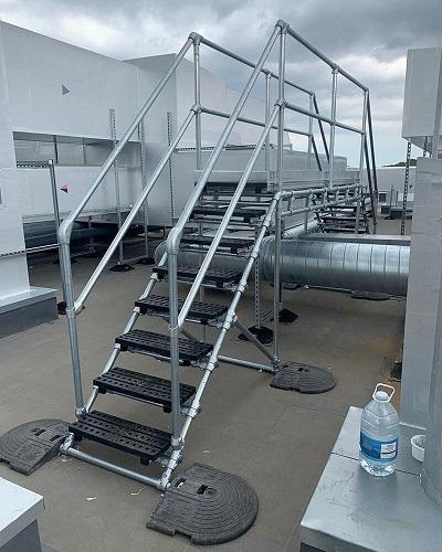Messa in sicurezza tetti piani per opere di manutenzione