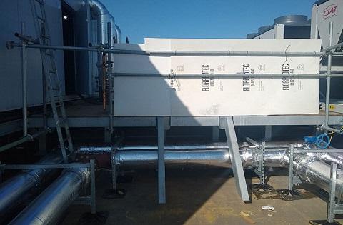 passerella di camminamento tetti piani messa in sicurezza coperture manutenzione impianti
